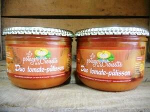 Le duo Tomate-Pâtisson